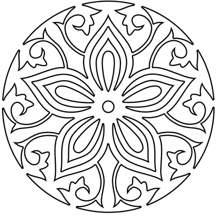 Mandala Coloring Meditation 3 | 2nd Star To The Right Yoga Blog