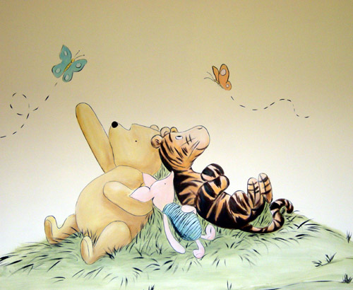 301 moved permanently for Classic pooh wall mural